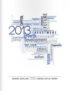 2013 Venture Capital Report