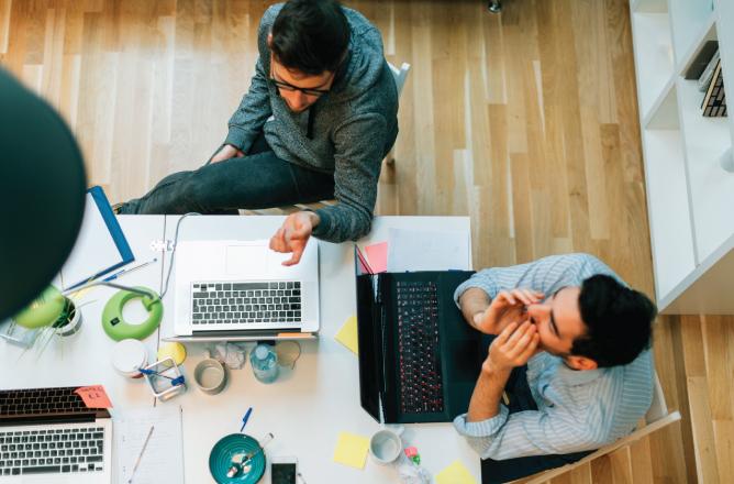 Startup investment risk