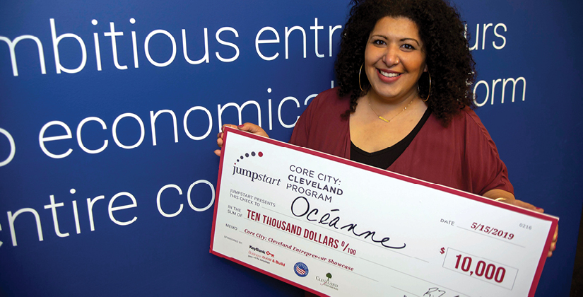 Océanne Takes Home The $10,000 Prize At Core City: Cleveland Spring Entrepreneur Showcase